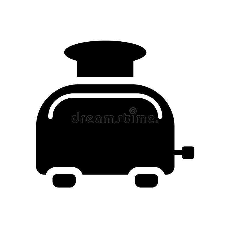 Icono de la tostadora  ilustración del vector