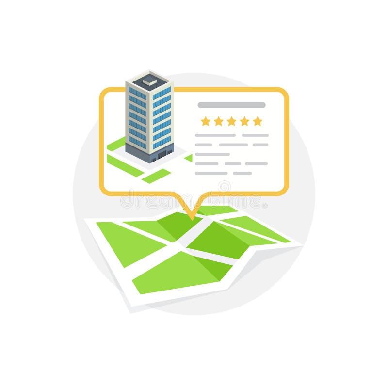 Icono de la ubicación Localización de su negocio libre illustration