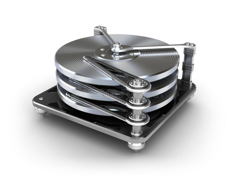 Icono de la unidad de disco duro libre illustration