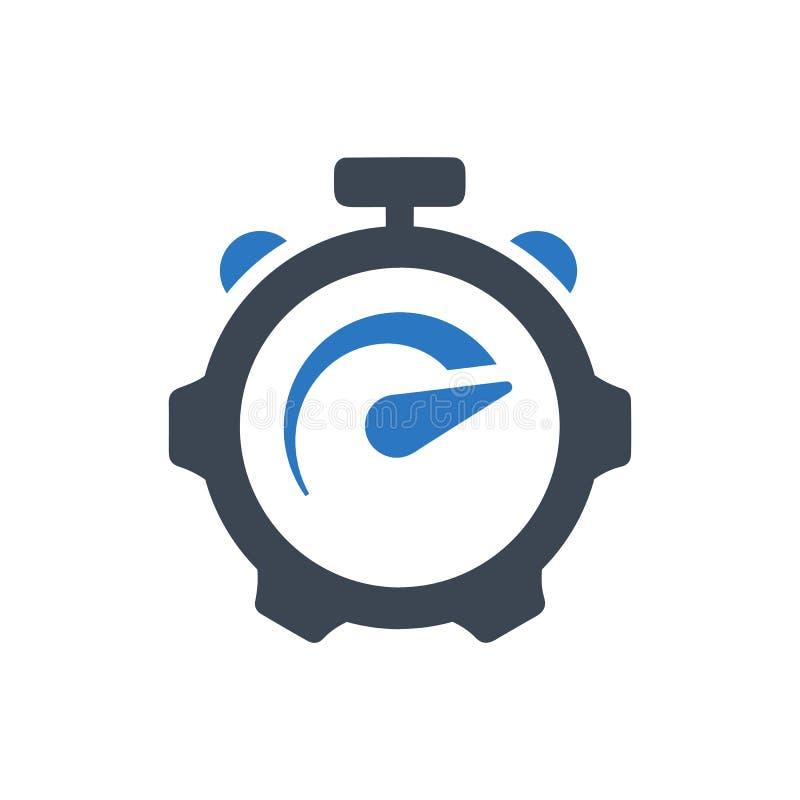 Icono de la valoración del rendimiento ilustración del vector
