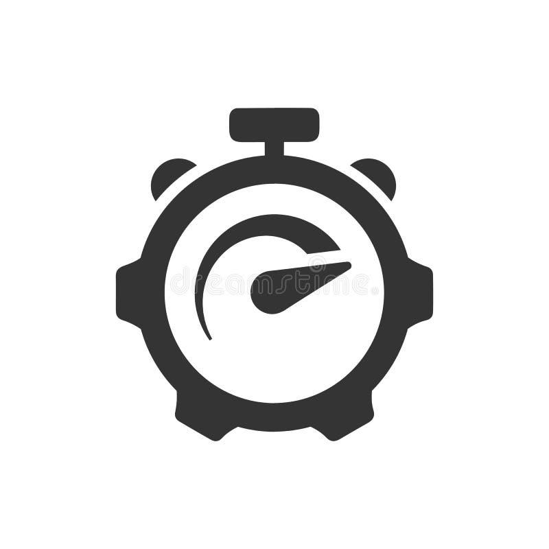 Icono de la valoraci?n del rendimiento ilustración del vector