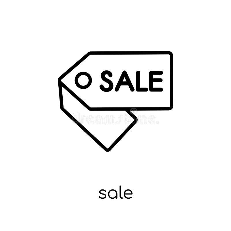Icono de la venta de la colección ilustración del vector
