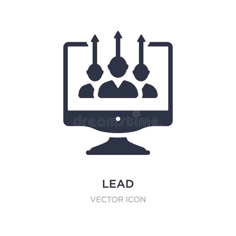 icono de la ventaja en el fondo blanco Ejemplo simple del elemento del concepto de la optimización del Search Engine ilustración del vector