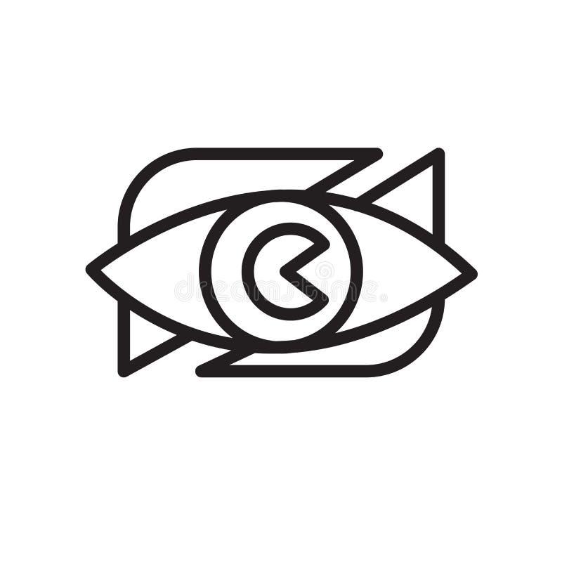 icono de la vigilancia vecinal aislado en el fondo blanco ilustración del vector