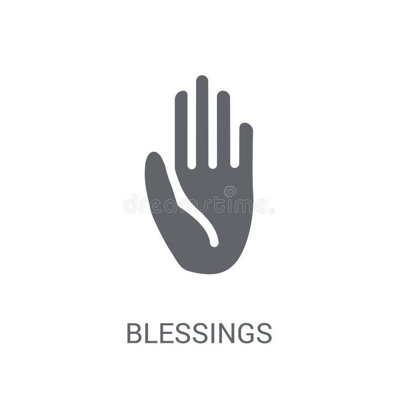 icono de las bendiciones  libre illustration