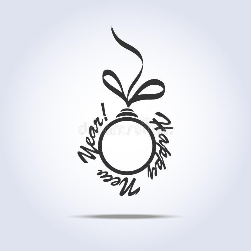 Download Icono De Las Bolas De La Navidad Adentro Stock de ilustración - Ilustración de aislado, navidad: 42442781