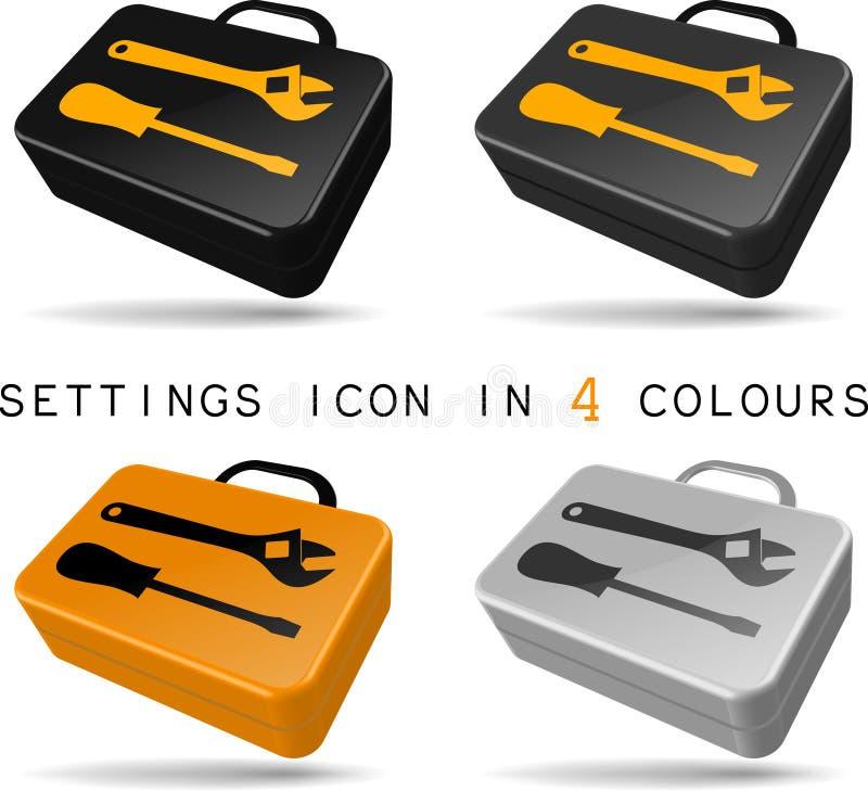 Icono de las configuraciones libre illustration
