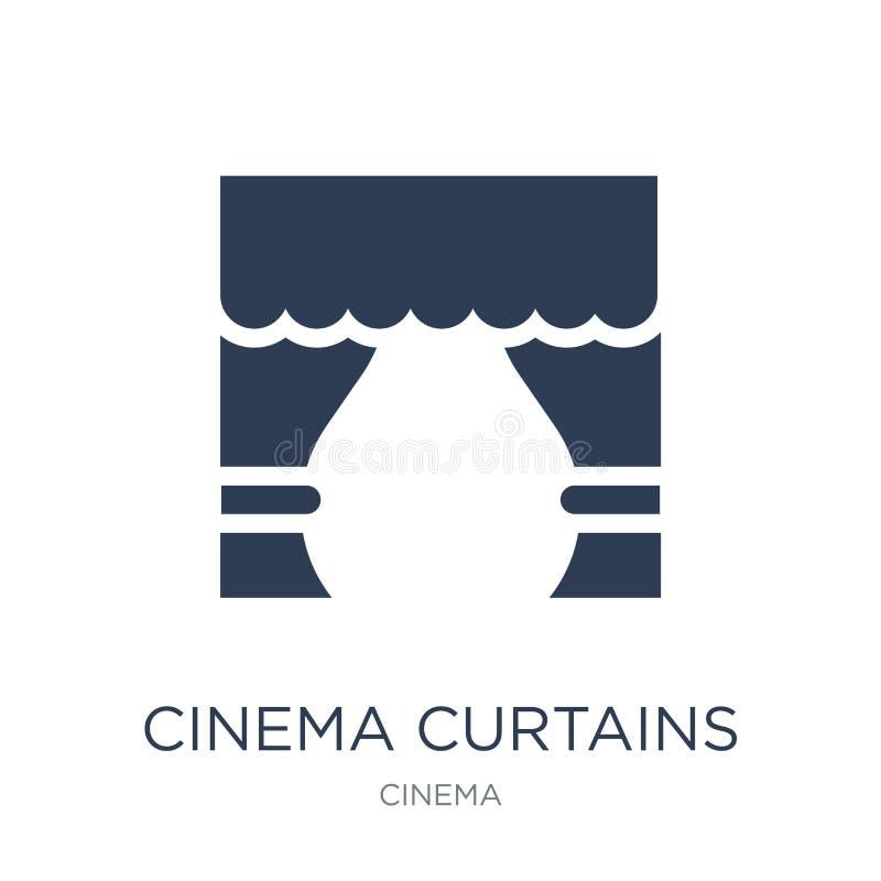 icono de las cortinas del cine  libre illustration