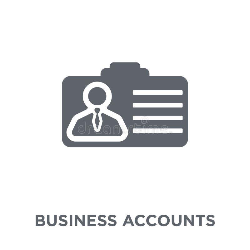 Icono de las cuentas del negocio de la colección de las cuentas del negocio libre illustration