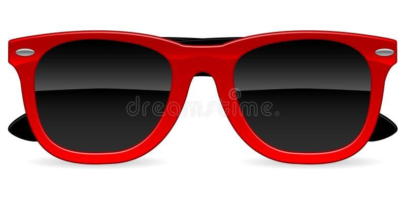 Icono de las gafas de sol ilustración del vector