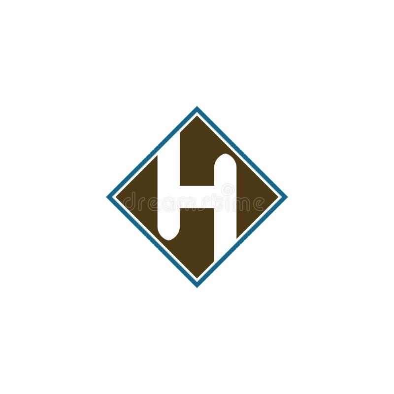 Icono de Logo Business Template Vector de la letra de H libre illustration