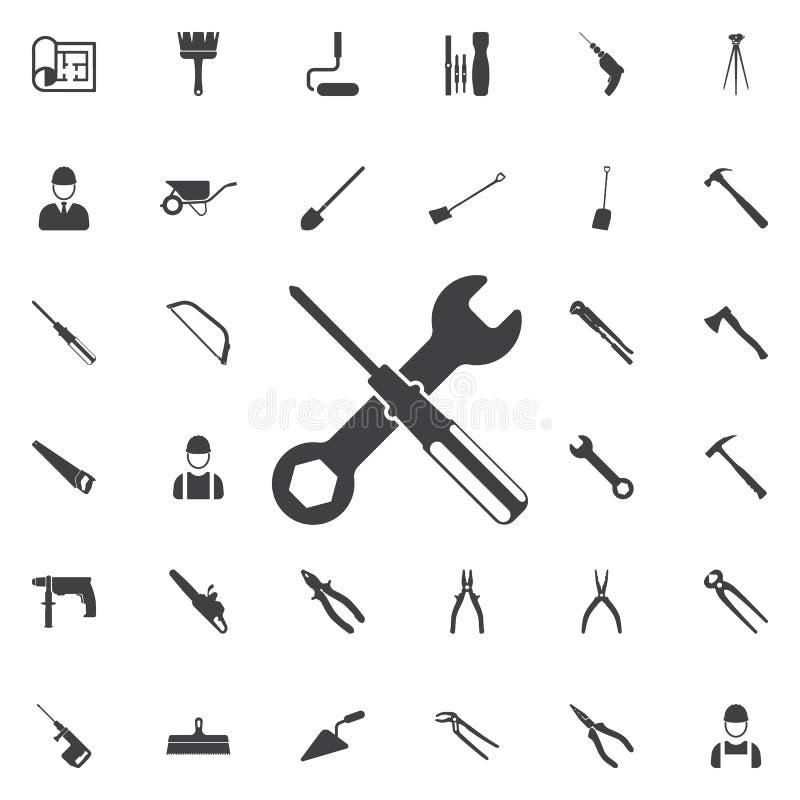 Icono de los ajustes ilustración del vector