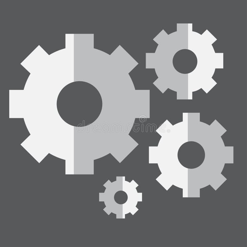 Icono de los ajustes libre illustration