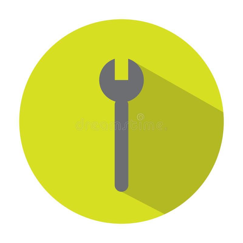 Icono de los cortes transversales stock de ilustración
