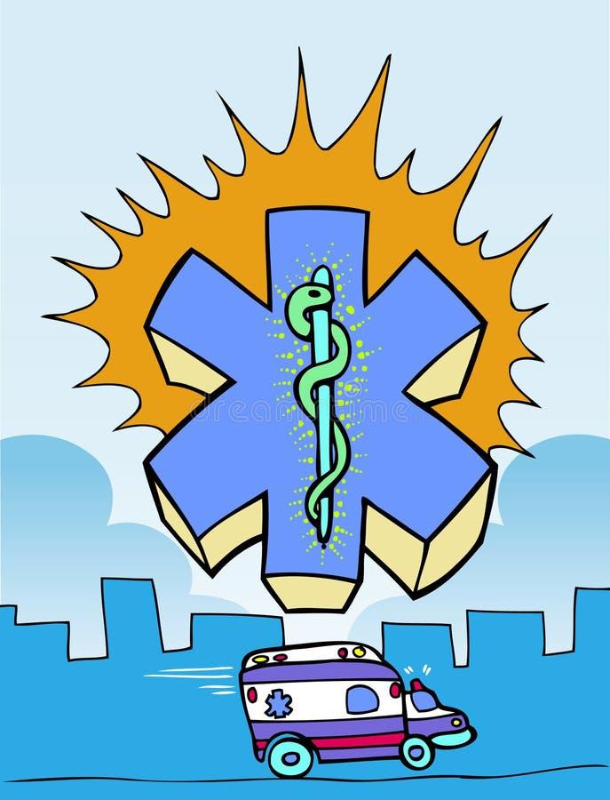 Icono de los primeros auxilios stock de ilustración
