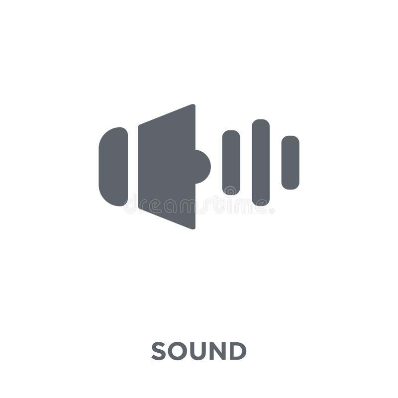 Icono de los sonidos de la colección ilustración del vector