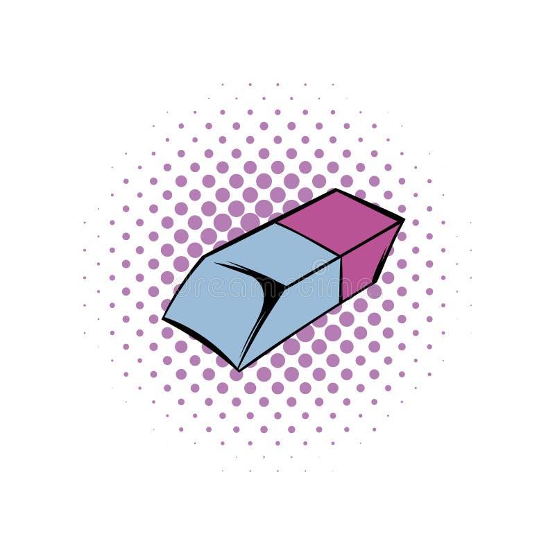 Icono de los tebeos del borrador stock de ilustración