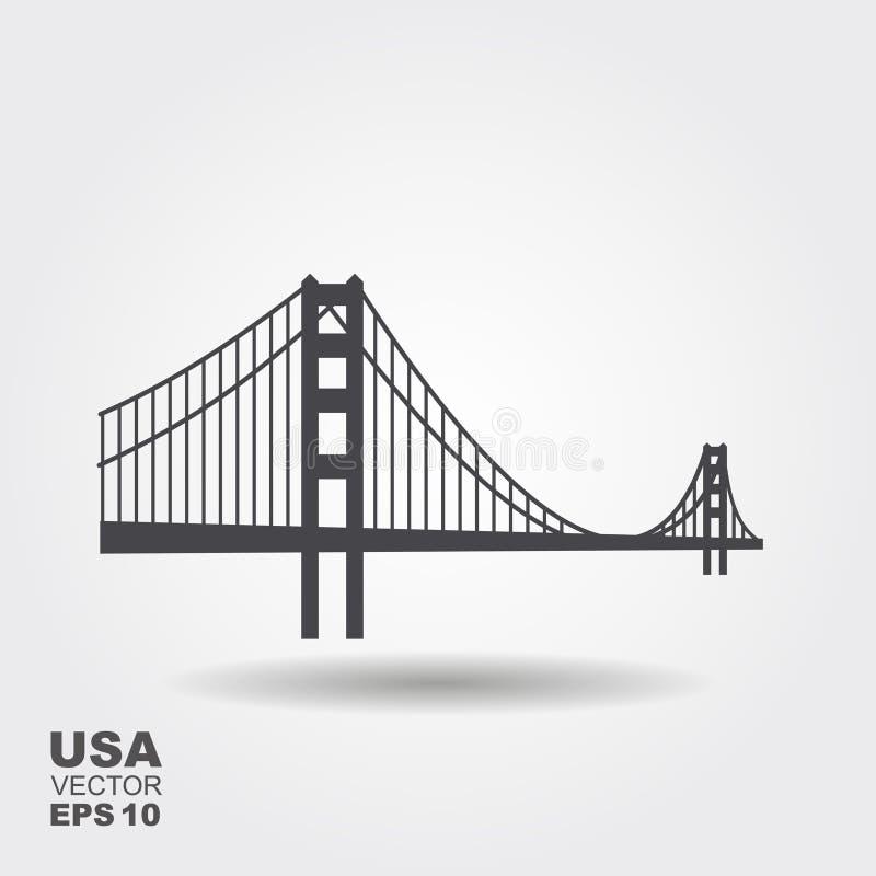 Icono de puente Golden Gate libre illustration