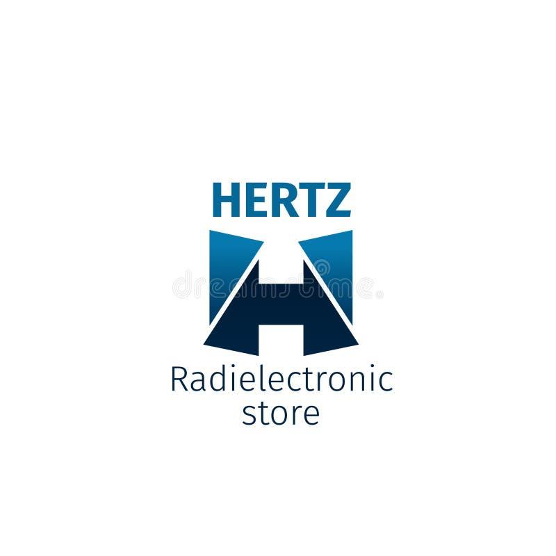 Icono de radio de la tienda electrónica ilustración del vector
