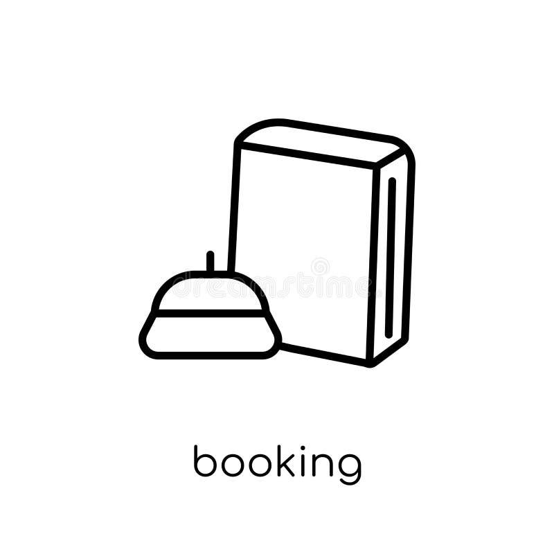 Icono de reservación de la colección del hotel libre illustration