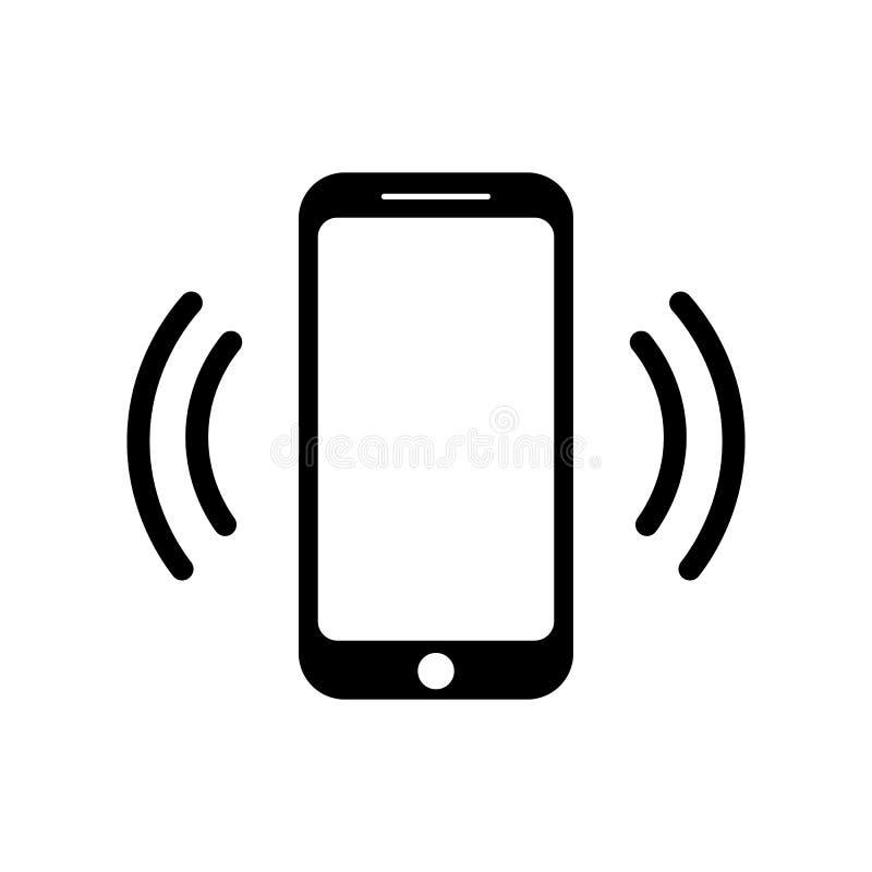 Icono de sonido de la llamada de teléfono móvil del icono del smartphone libre illustration