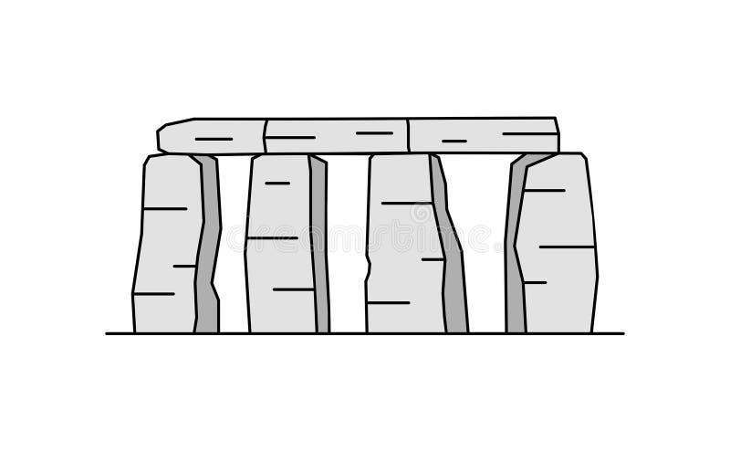 Icono de Stonehenge Ilustración del vector ilustración del vector