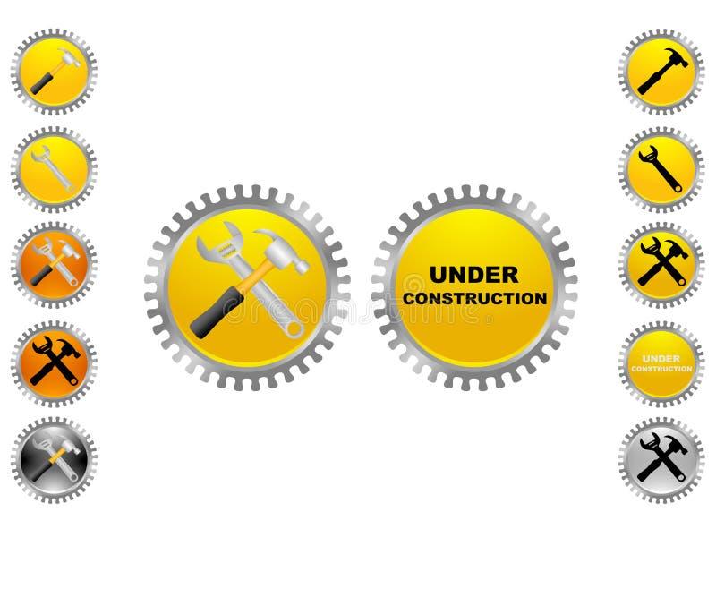 Icono de trabajo ilustración del vector