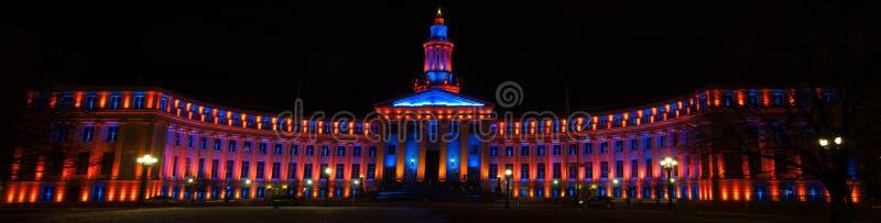 Icono de una Denver, Colorado fotos de archivo