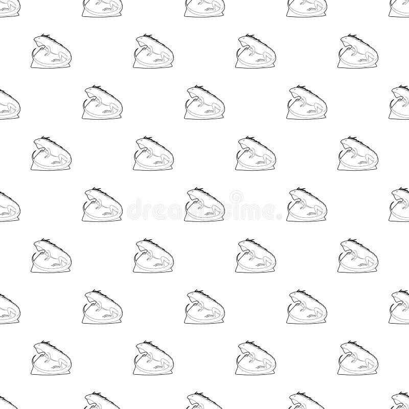 Icono de Varan, estilo del esquema libre illustration