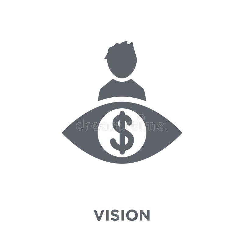 Icono de Vision de la colección libre illustration