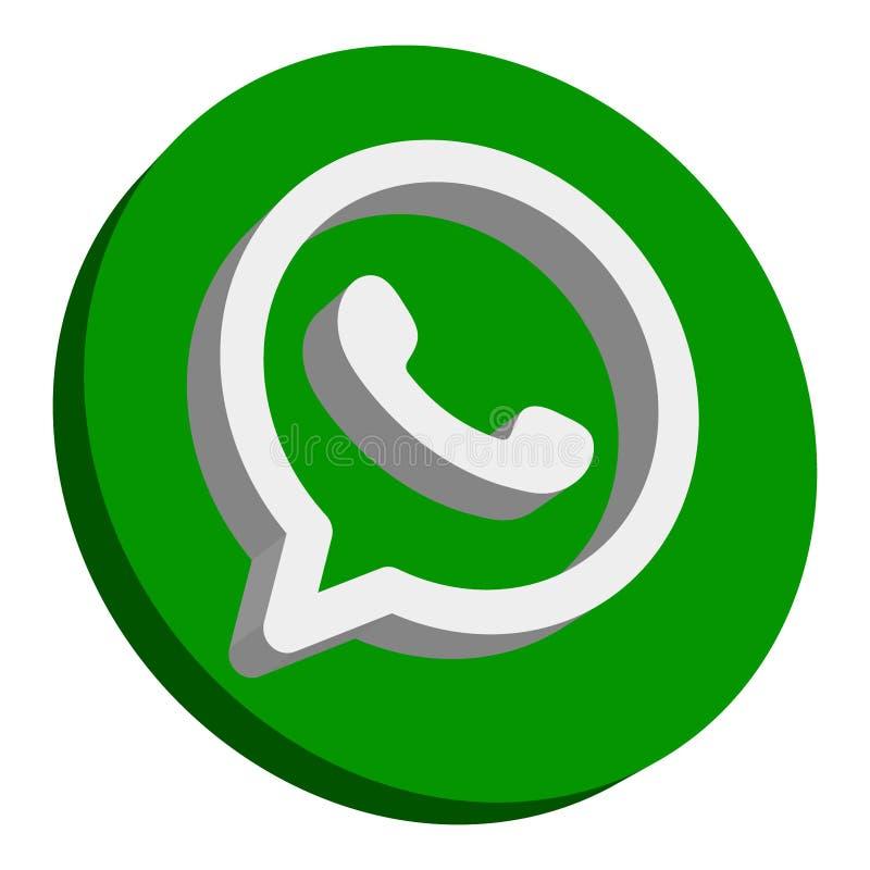 Icono de WhatsApp libre illustration