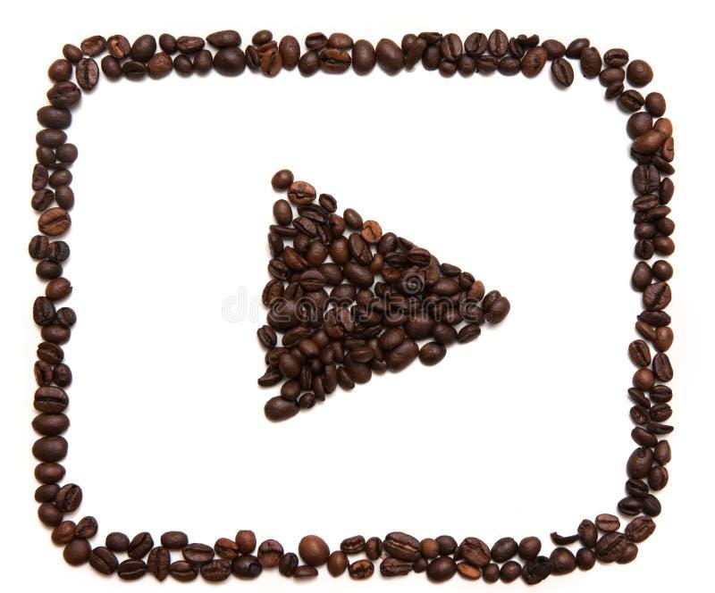 Icono de YouTube en el fondo blanco foto de archivo libre de regalías