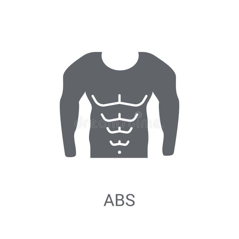 Icono del ABS  ilustración del vector