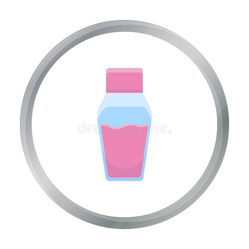 Icono del aceite del balneario del ejemplo del vector para el web y el móvil ilustración del vector