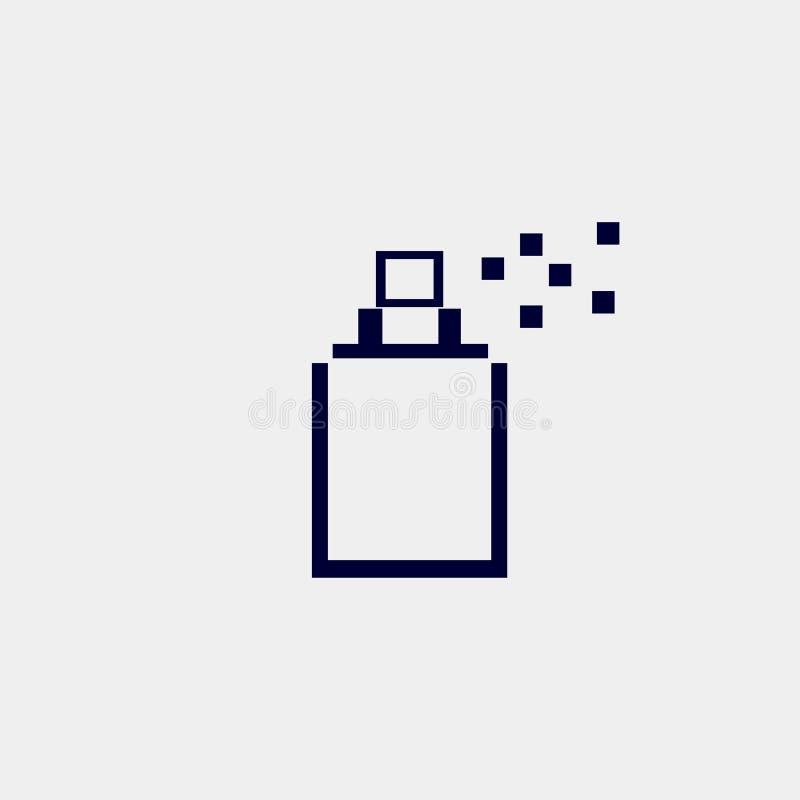 icono del aerosol stock de ilustración