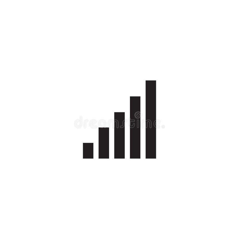 Icono del ajuste del volumen Muestra ruidosa simple libre illustration