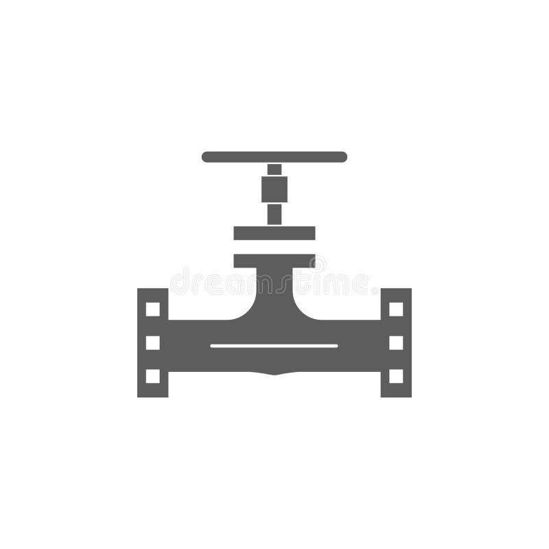 icono del alambre del aceite Elemento del icono del petróleo y gas Icono superior del diseño gráfico de la calidad Muestras e ico stock de ilustración