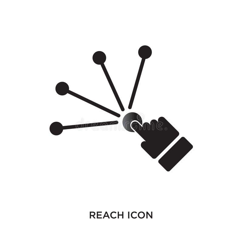 Icono del alcance libre illustration