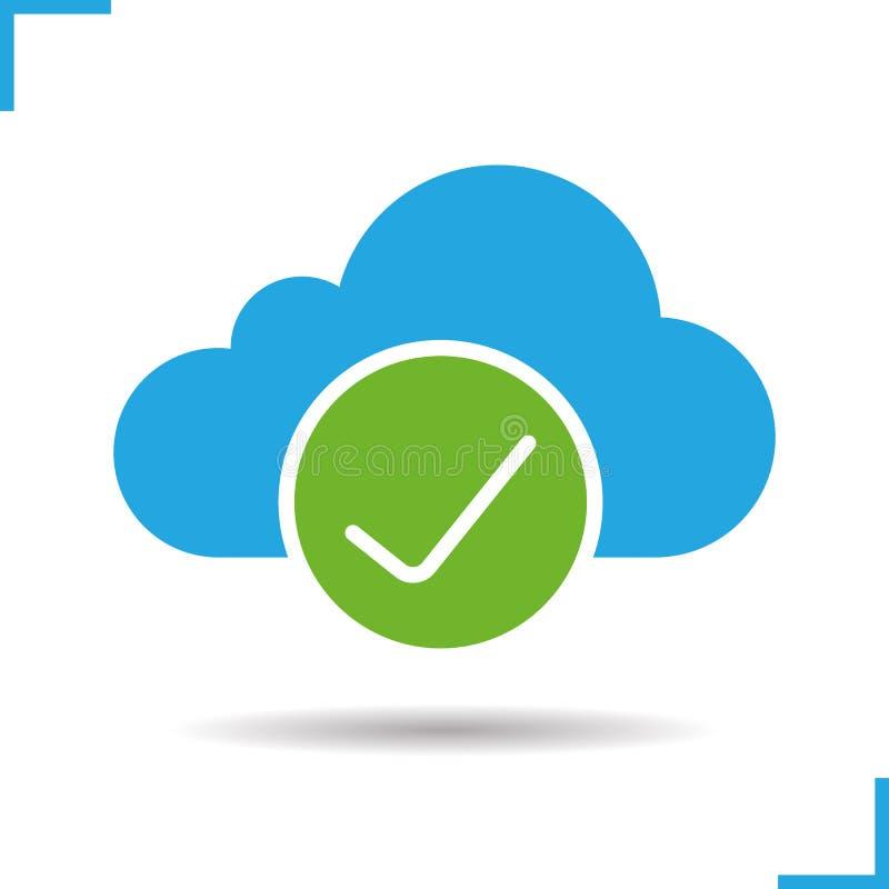 Icono del almacenamiento de la nube libre illustration