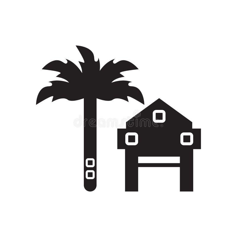 Icono del alquiler aislado en el fondo blanco ilustración del vector