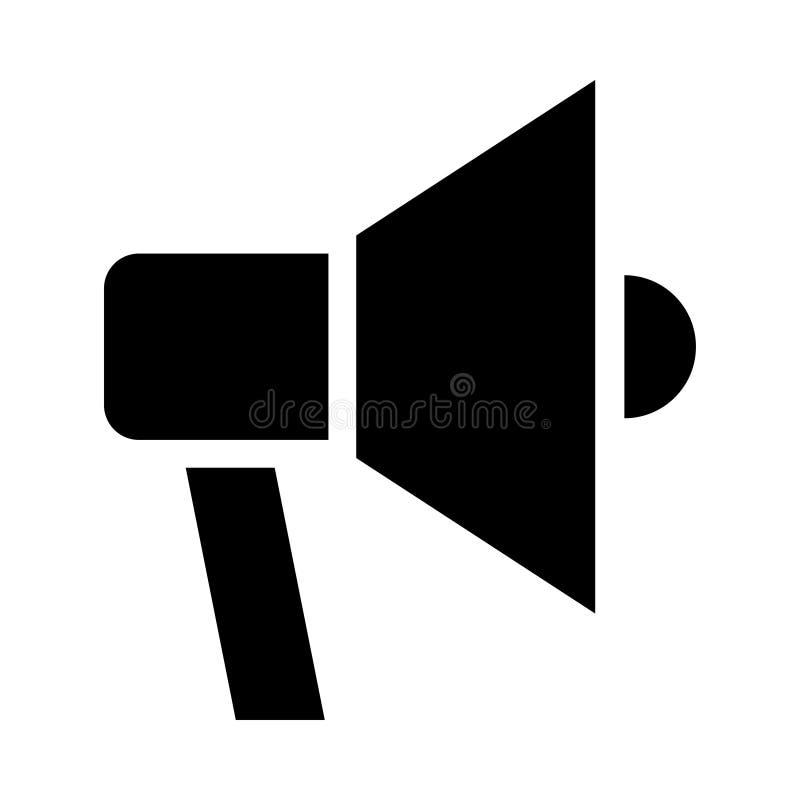 Icono del altavoz ilustración del vector