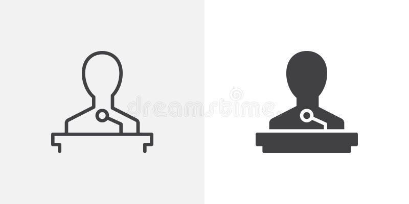 Icono del altavoz libre illustration
