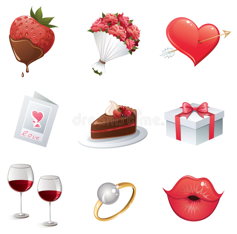 Icono del amor ilustración del vector