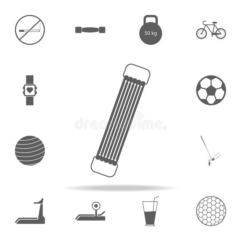 icono del ampliador del hombro Diviértase el sistema universal de los iconos para el web y el móvil libre illustration
