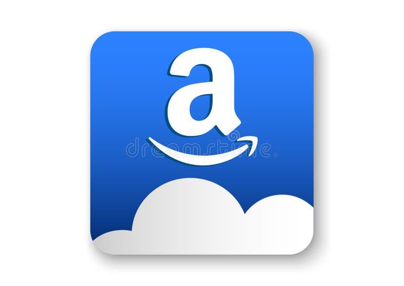 icono del apk de la impulsión del Amazonas stock de ilustración