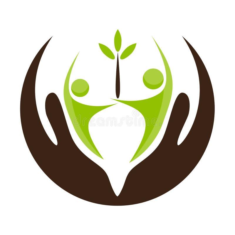 Icono del apoyo a la comunidad libre illustration