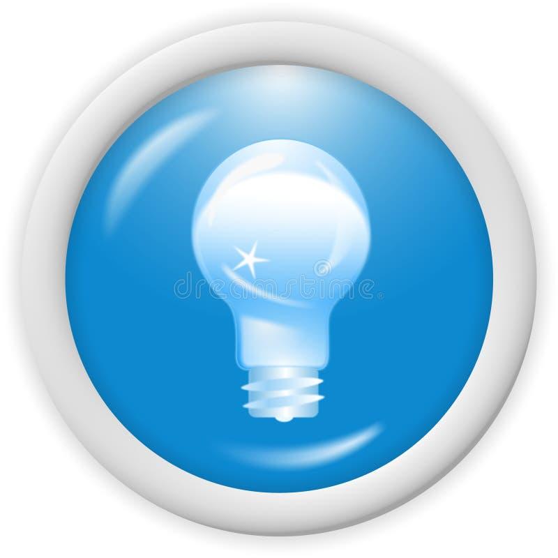 icono del azul 3d stock de ilustración