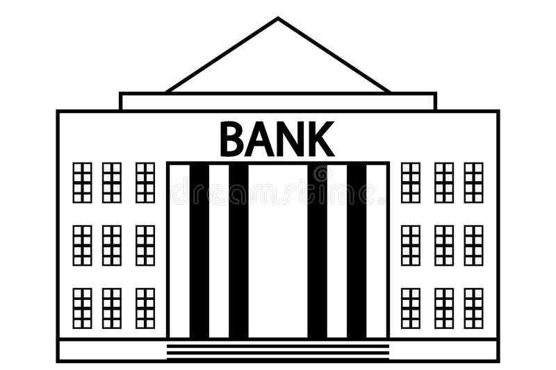 Icono del banco libre illustration
