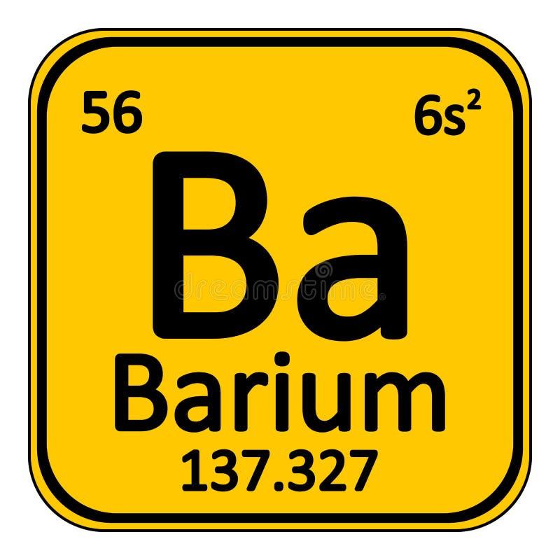 Icono del bario del elemento de tabla peridica stock de ilustracin download icono del bario del elemento de tabla peridica stock de ilustracin ilustracin de molcula urtaz Images
