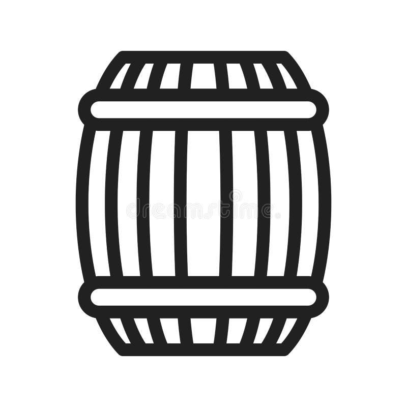 Icono del barril libre illustration